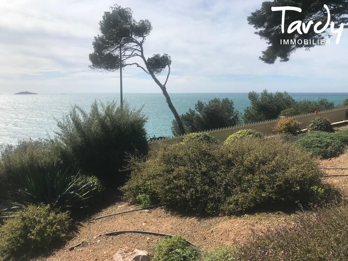 Villa Sauzet vue mer port de Sanary à pieds - Sanary-sur-Mer