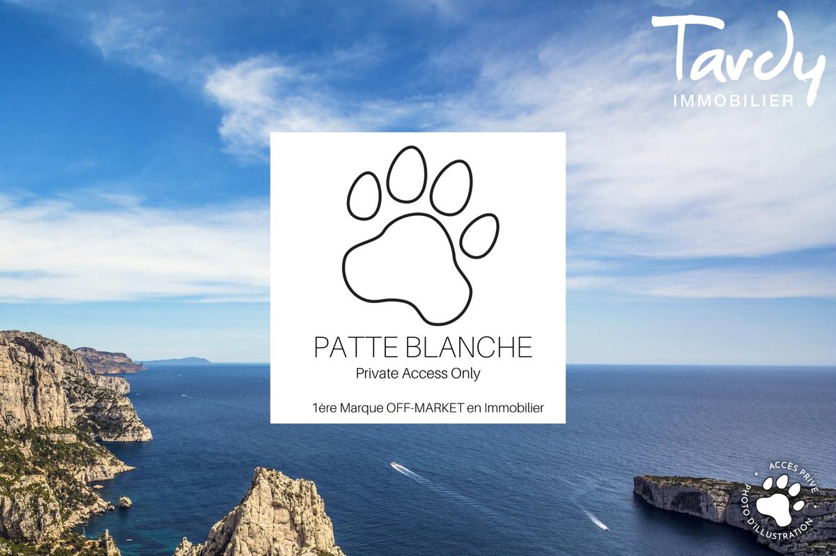 Contemporaine Vue mer clos fermé - 7è Marseille - Marseille 7ème - PATTE BLANCHE 1ère Marque OFF MARKET en Immobilier - MARSEILLE- TARDY IMMOBILIER
