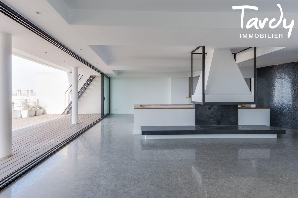 Villa d'architecte vue mer et Bonne mère - 13007 Marseille - Marseille 7ème