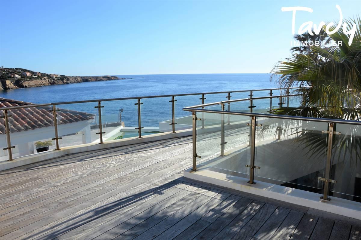 Villa pieds dans l'eau - Vue et accès à la mer -  Sanary sur Mer - Sanary-sur-Mer - Villa pieds dans l'eau à Sanary sur Mer