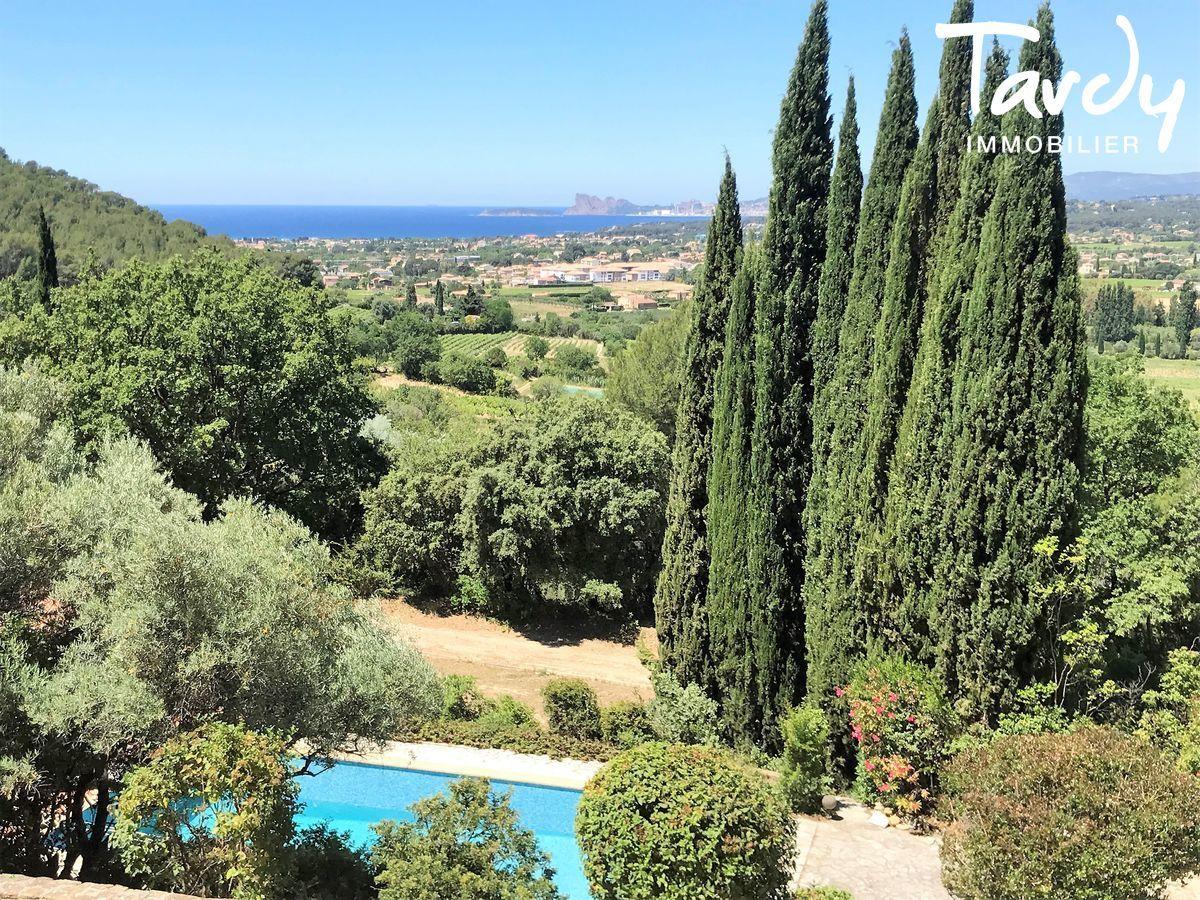 MAISON DE FAMILLE VUE MER - La Cadière-d'Azur - La Cadière d'Azur Vue mer propriété sur 2 hectares