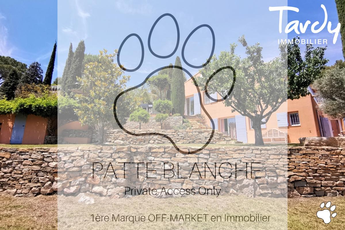 Villa de charme avec vue mer - 83150 Bandol - Bandol - PATTE BLANCHE- 1ère Marque OFF MARKET en Immobilier- TARDY IMMOBILIER