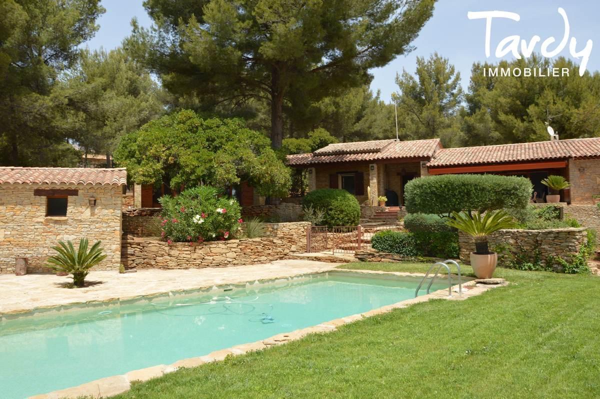 Villa de charme en pierre de plain-pied - Le Jas de Clare à La Cadière d'Azur - La Cadière-d'Azur