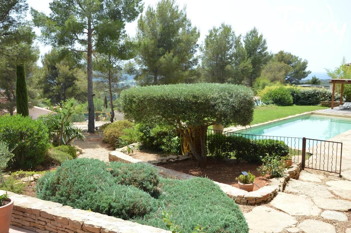 BELLE PROPRIETE de CARACTERE VUE MER ET CAMPAGNE - La Cadière-d'Azur - Propriété en pierres avec vue mer à la Cadière d'Azur
