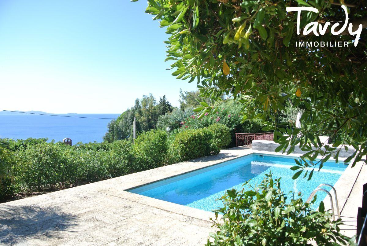 Villa familiale, vue mer - Aiguebelle 83980 Le Lavandou - Le Lavandou - Vue mer