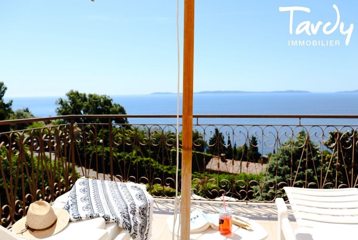 Villa familiale, vue mer - Aiguebelle 83980 Le Lavandou - Le Lavandou - Vue sur l'île du Levant
