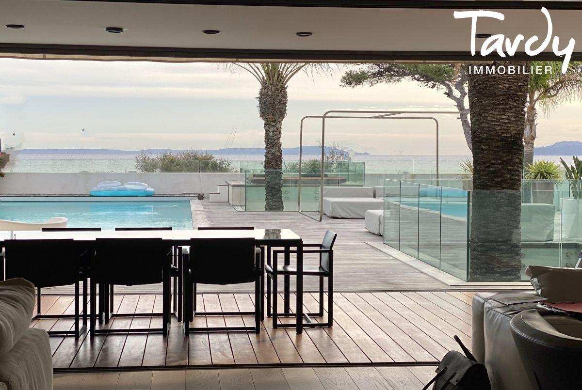 Villa d'architecte prestige vue mer La Capte Hyères - Hyères - La Capte Hyères