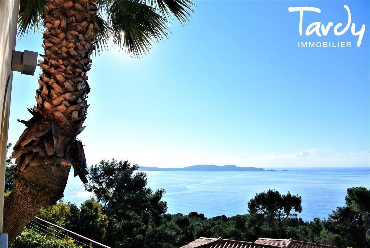 Villa d'architecte, domaine privé vue mer - Le Mont des oiseaux 83320 Carqueiranne - Carqueiranne - Vue mer presqu'île de Giens