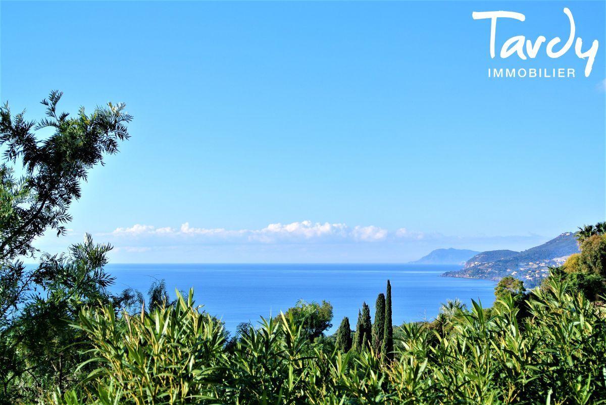 Villa d'architecte, domaine privé vue mer - Le Mont des oiseaux 83320 Carqueiranne - Carqueiranne - Vue mer à 180°