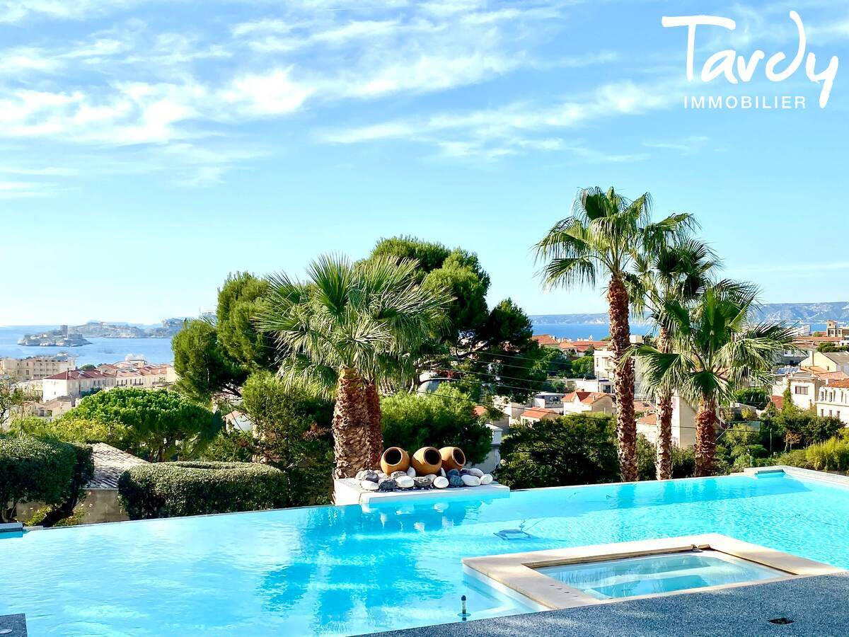 Villa contemporaine vue mer et îles - 13007 Marseille - Marseille 7ème - Marseille Vue mer 7è