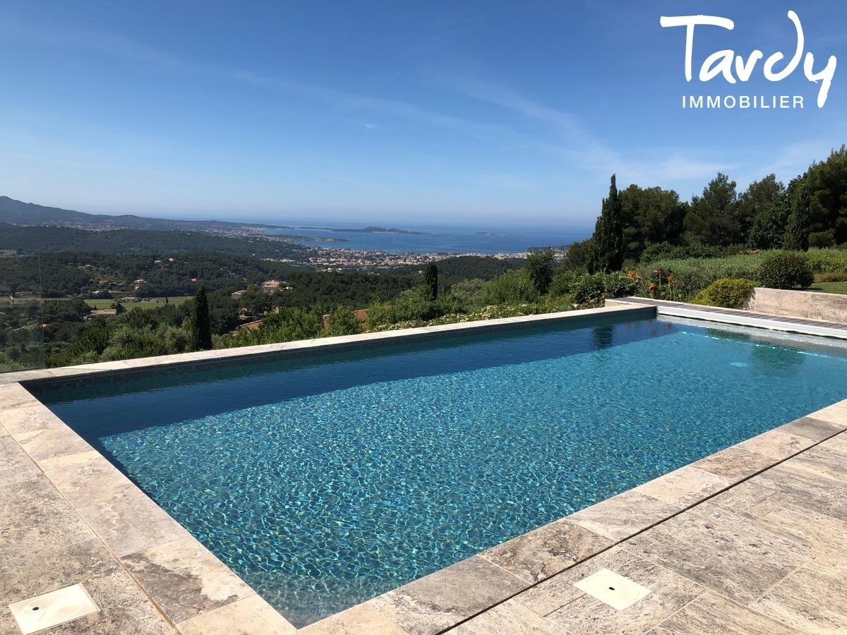 Villa d'architecte, vue mer panoramique - Le Lançon 83190 Ollioules - Ollioules - VILLA D'ARCHITECTE