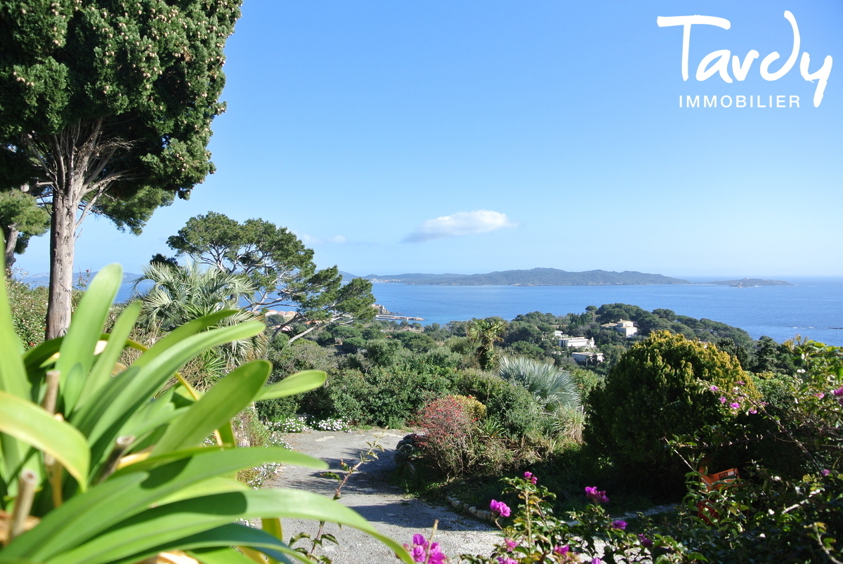 Villa position dominante, vue mer à 180° - La Polynésie 83400 Hyères  - Hyères - Presqu'île de Giens