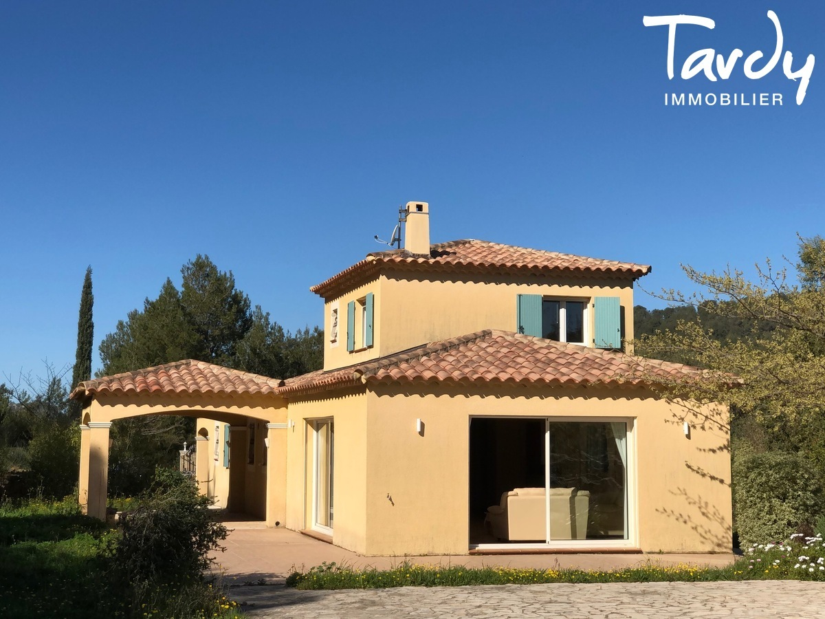 Villa familiale, proche Golf de La Frégate - 83740 La Cadière d'Azur - La Cadière-d'Azur - VUE DEGAGEE