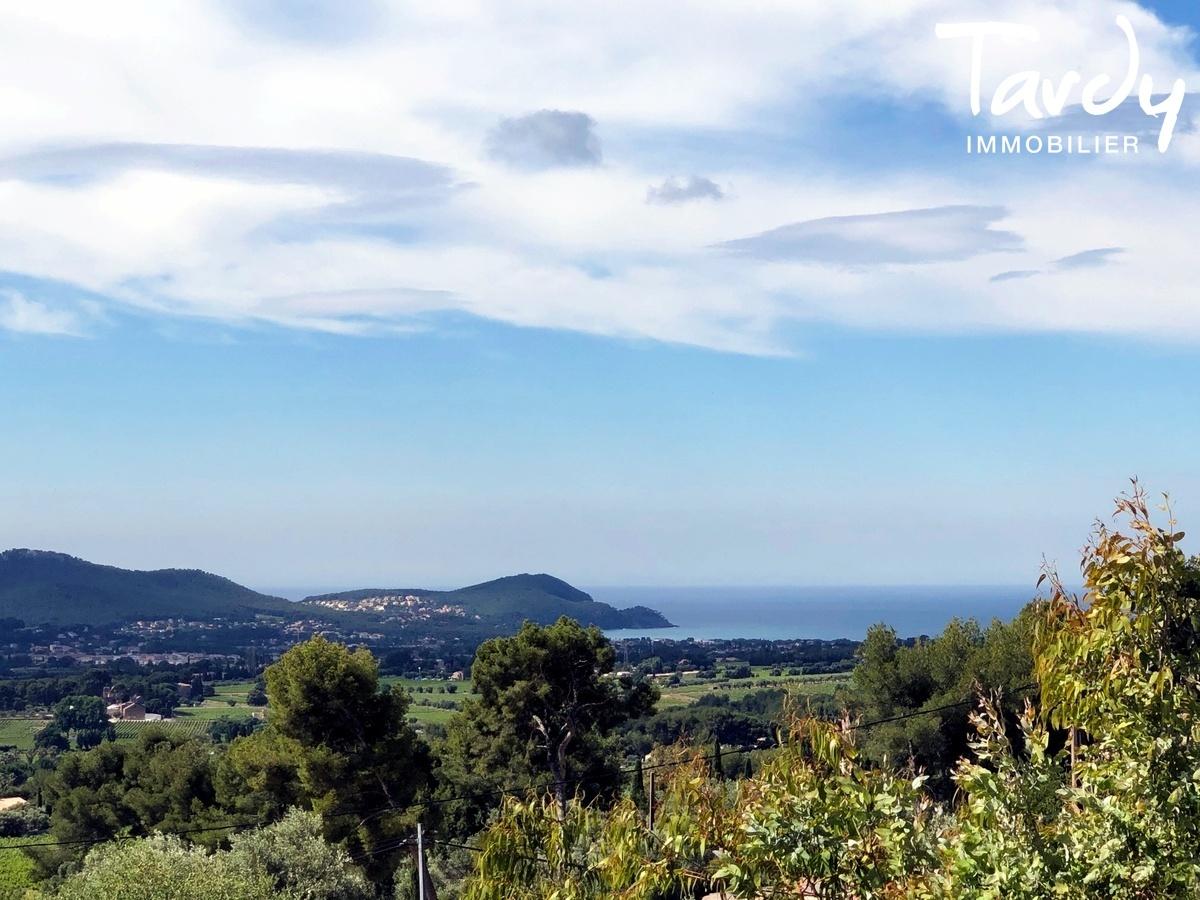 Propriété familiale, possibilité 2 villas - Les Lauves 83740 La Cadière d'Azur - La Cadière-d'Azur - VUE MER a la Cadière d'Azur