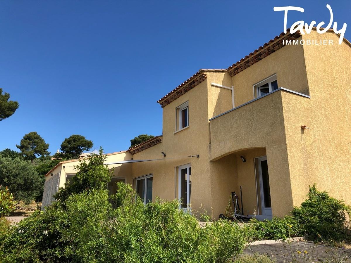 Propriété familiale, possibilité 2 villas - Les Lauves 83740 La Cadière d'Azur - La Cadière-d'Azur - TARDY IMMOBILIER