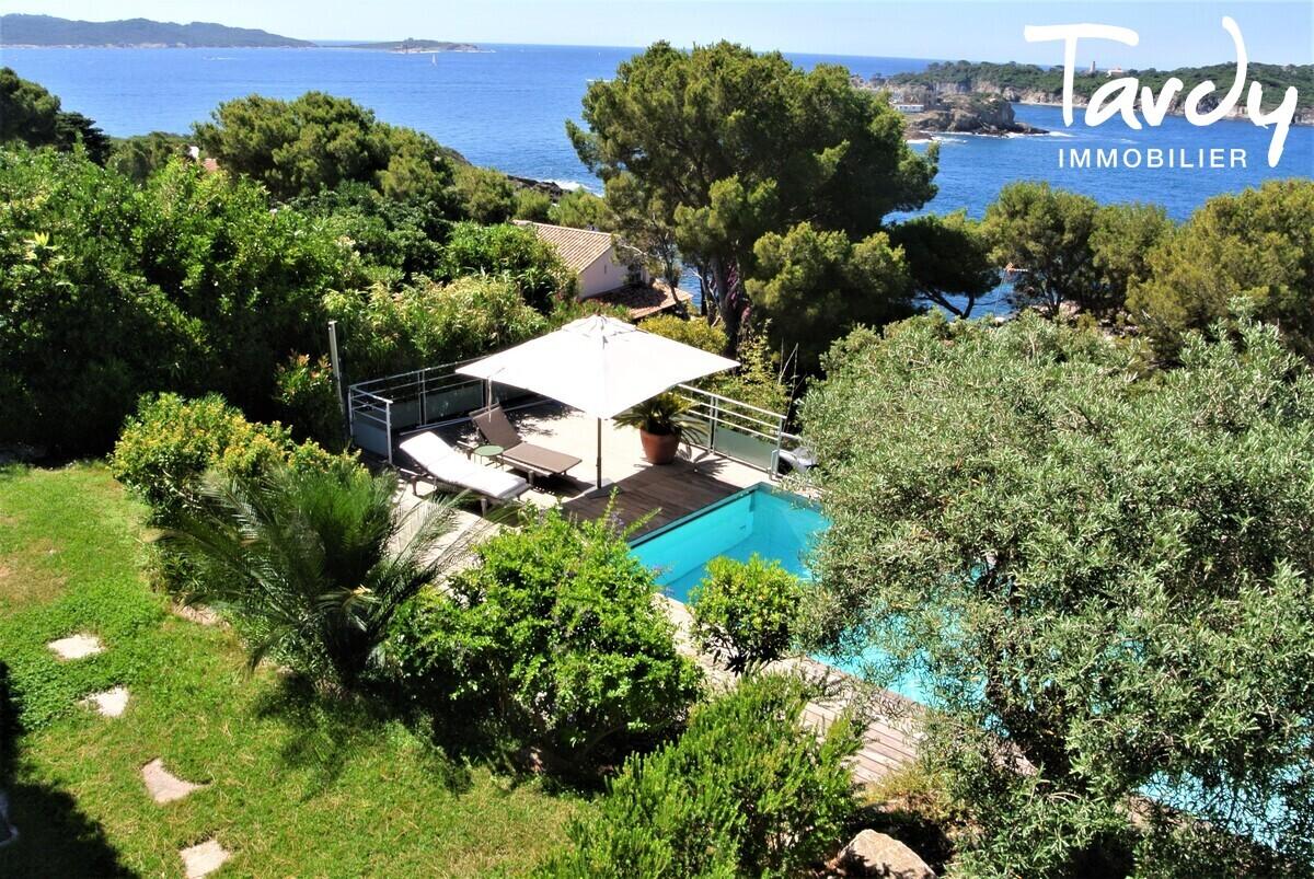 Villa vue mer Presqu'île de Giens Hyères  - Hyères
