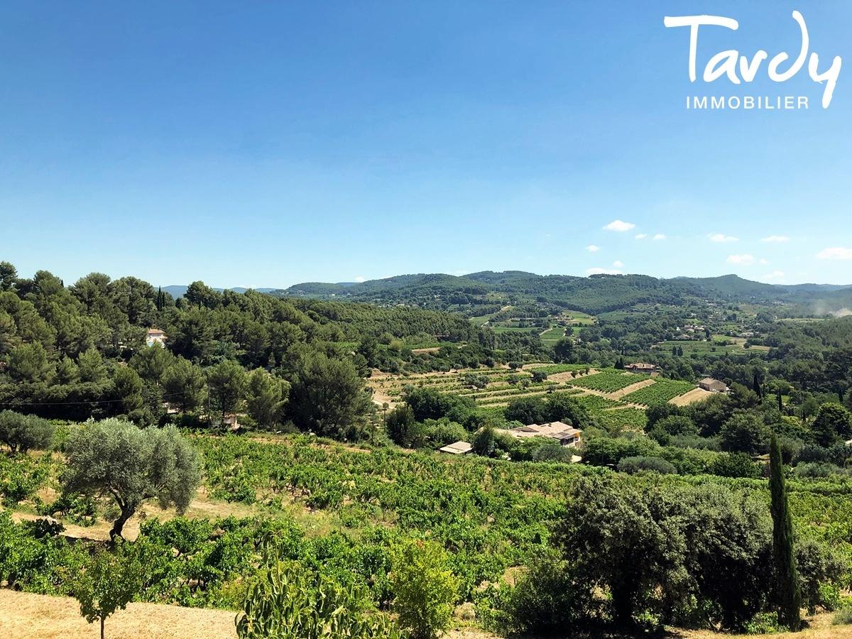 Villa contemporaine vue dégagée campagne à La Cadière d'Azur - La Cadière-d'Azur - CADRE CAMPAGNE