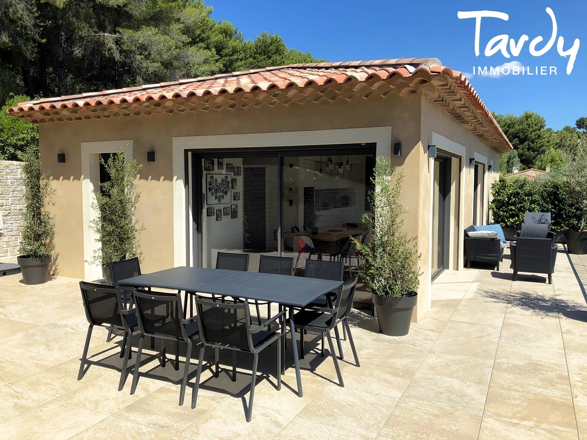 Villa contemporaine vue dégagée campagne à La Cadière d'Azur - La Cadière-d'Azur - VUE CAMPAGNE