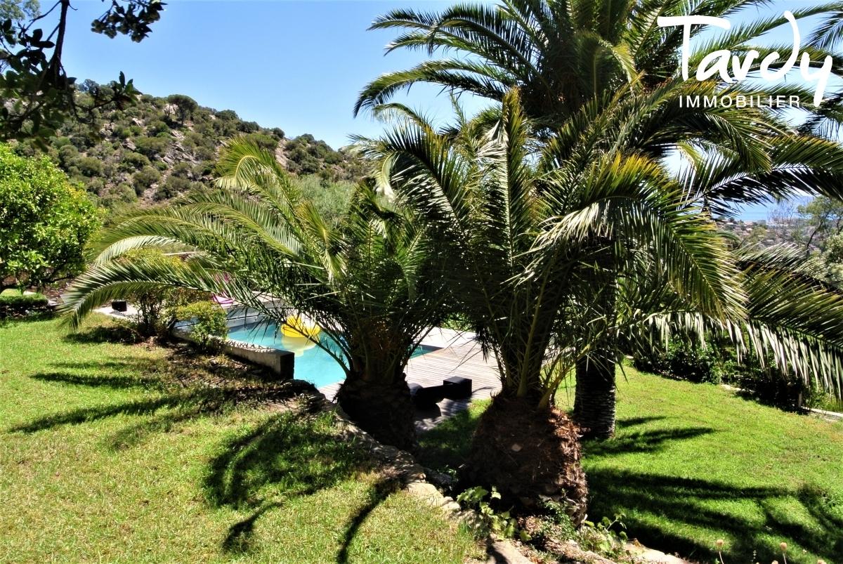 Villa contemporaine, campagne vue mer - 83230 Bormes les Mimosas Le Lavandou - Bormes-les-Mimosas - Vue mer Le Lavandou