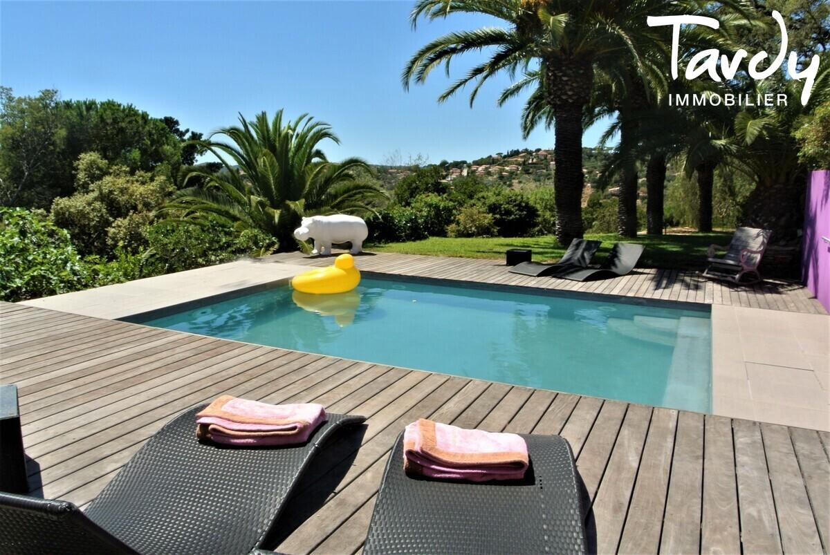 Villa contemporaine, campagne vue mer - 83230 Bormes les Mimosas Le Lavandou - Bormes-les-Mimosas - Villa piscine