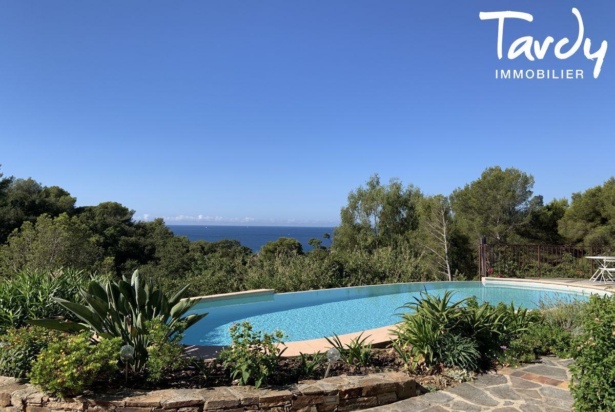 Villa vue mer domaine privé et accès mer - Les Bonnettes 83220 Le Pradet - Le Pradet - Vue mer