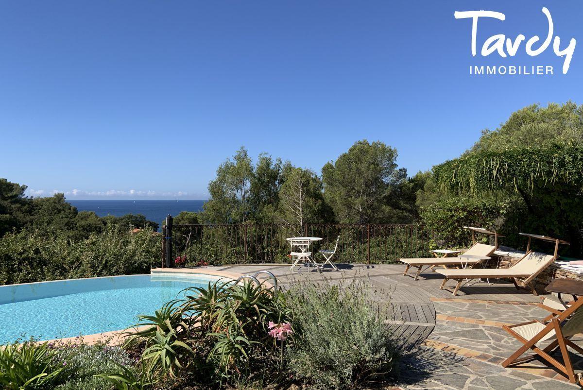 Villa vue mer domaine privé et accès mer - Les Bonnettes 83220 Le Pradet - Le Pradet - Piscine