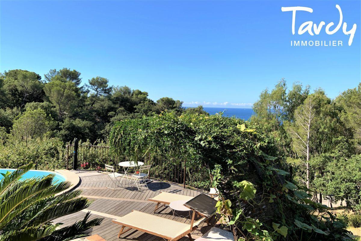 Villa vue mer domaine privé et accès mer - Les Bonnettes 83220 Le Pradet - Le Pradet - Proche mer