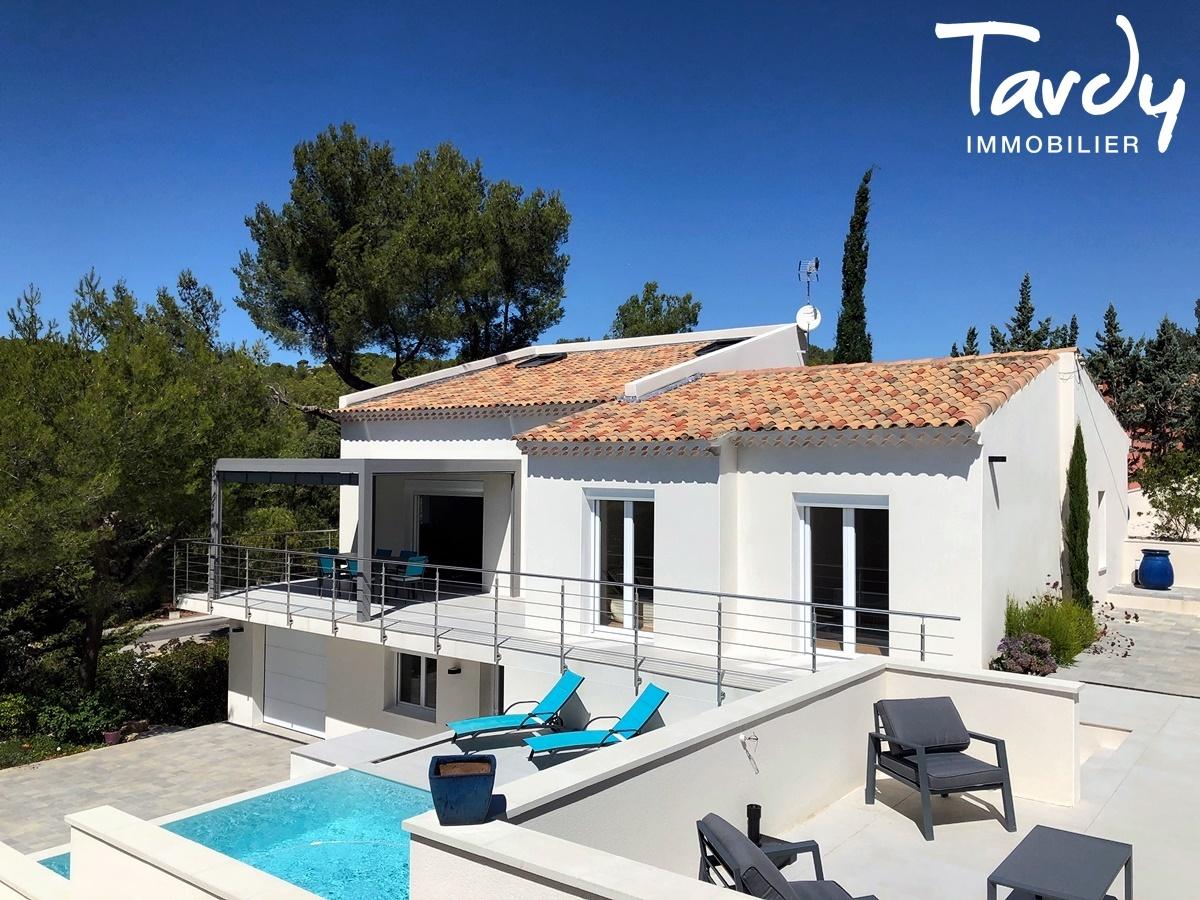 Villa vue campagne, proche port et plages - 83150 Bandol. - Bandol - VILLA BANDOL