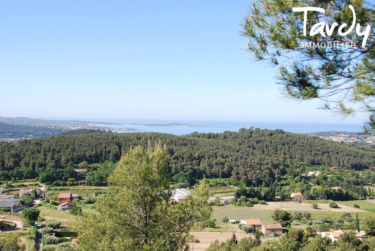 Terrain vue mer panoramique - 83110 Sanary sur mer - Sanary-sur-Mer