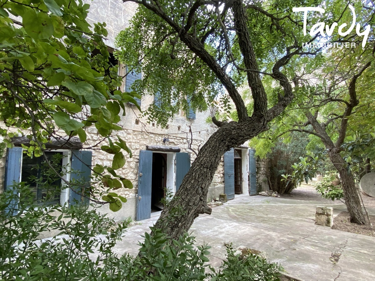 Mas ancien de caractère - 13520 LES BAUX DE PROVENCE - Les Baux-de-Provence - Les Baux-de-Provence Tardy immobilier