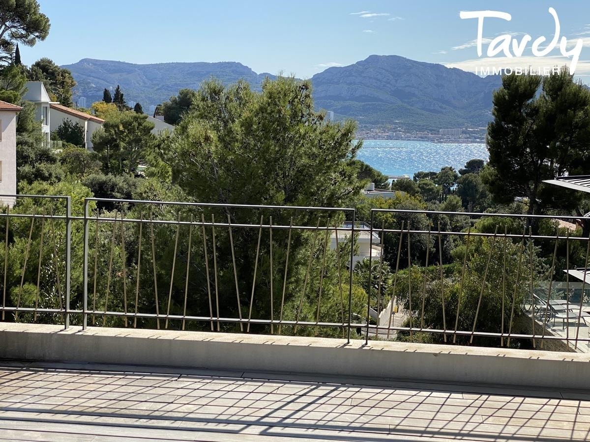 Villa d'Architecte, vue mer, parc gardé - 13007 Marseille - Marseille 7ème