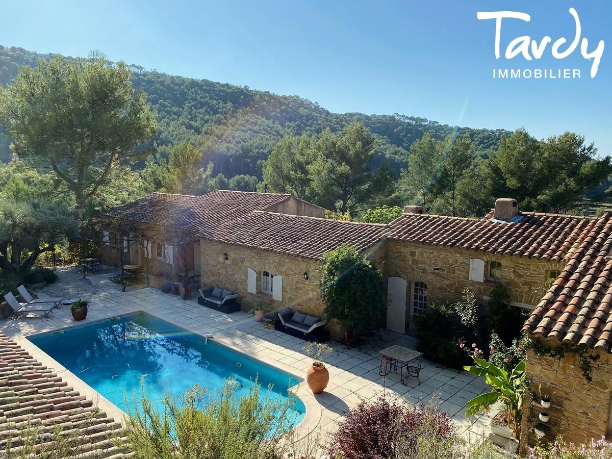 Longère Provençale, les vues, le charme et la pierre -  83330 Le Castellet - Le Castellet - NOUVEAUTE