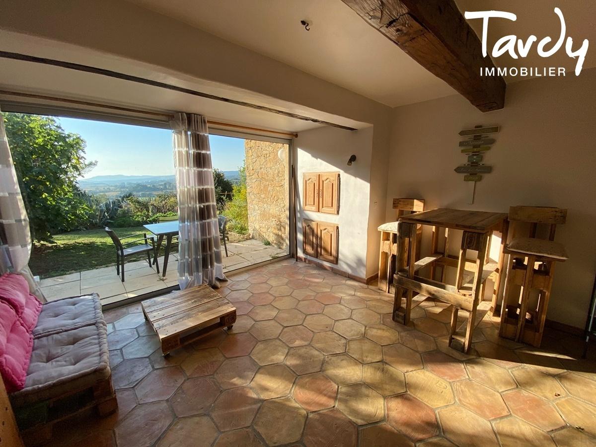 Longère Provençale, les vues, le charme et la pierre -  83330 Le Castellet - Le Castellet - EXCLUSIVITE TARDY IMMOBILIER