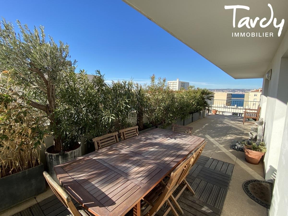 Grand appartement avec terrasse -plage des Catalans  Marseille - Marseille 7ème