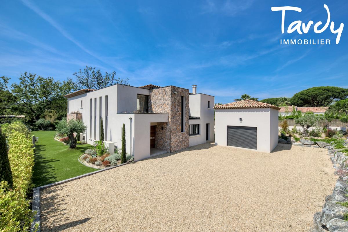 Villa contemporaine - 100 mètres de la plage - Saint Tropez - Saint-Tropez - Villa moderne plage des Canoubiers à 200 mètres