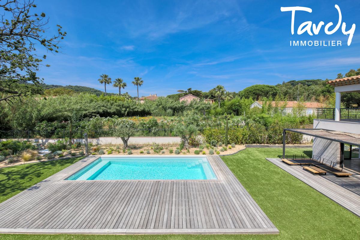 Villa contemporaine - 100 mètres de la plage - Saint Tropez - Saint-Tropez - luxus-immobilienagentur Saint Tropez