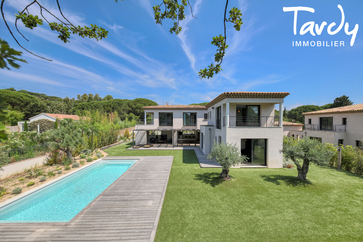Villa contemporaine - 100 mètres de la plage - Saint Tropez - Saint-Tropez