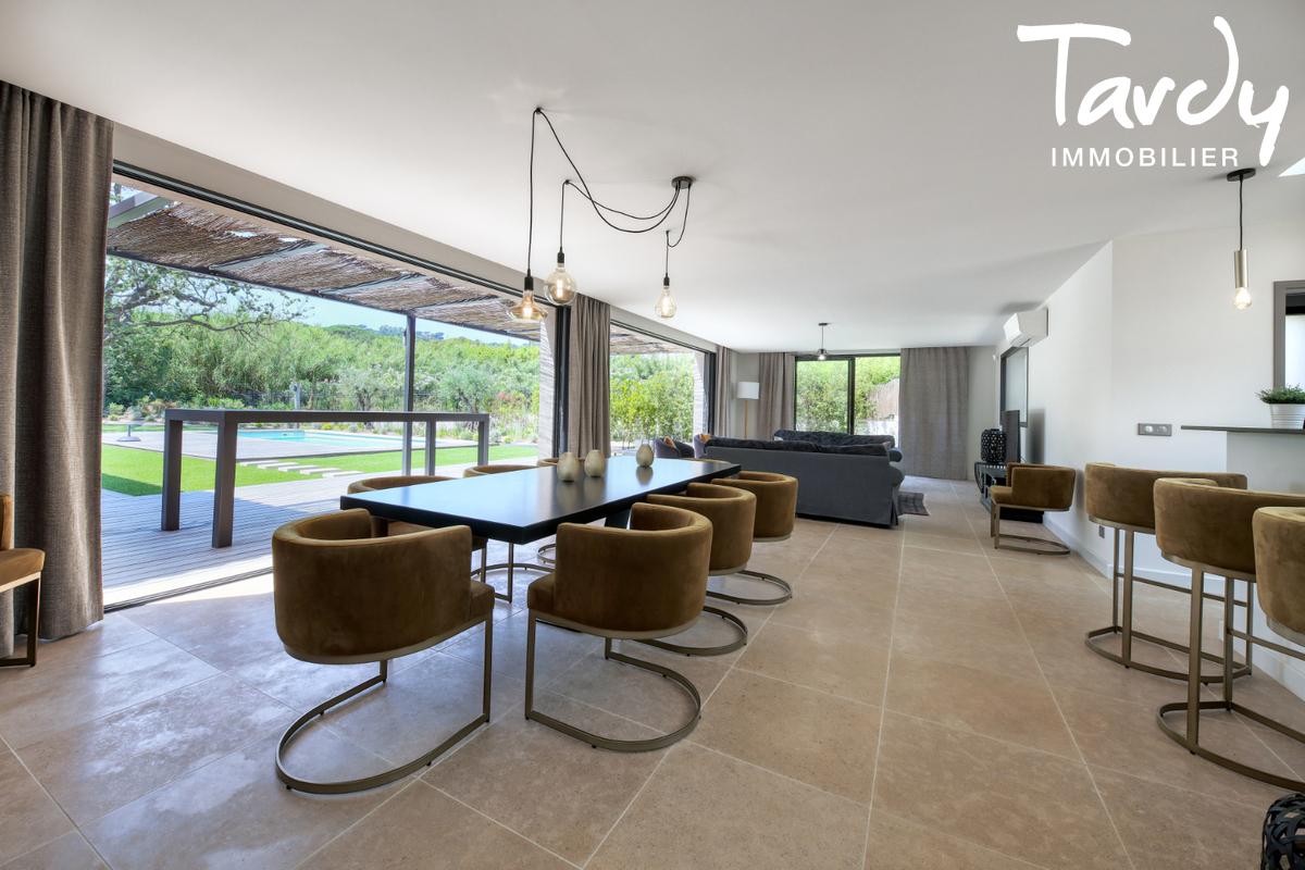 Villa contemporaine - 100 mètres de la plage - Saint Tropez - Saint-Tropez - Contemporaine proche plage des Canoubiers à St Tropez