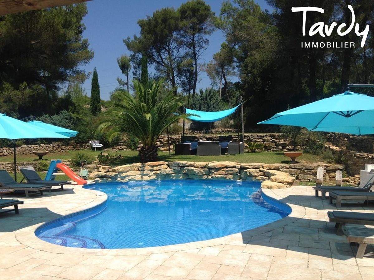 Villa campagne - 83330 Le Castellet - Le Castellet - EXCLUSIVITE TARDY IMMOBILIER Le Castellet 83330