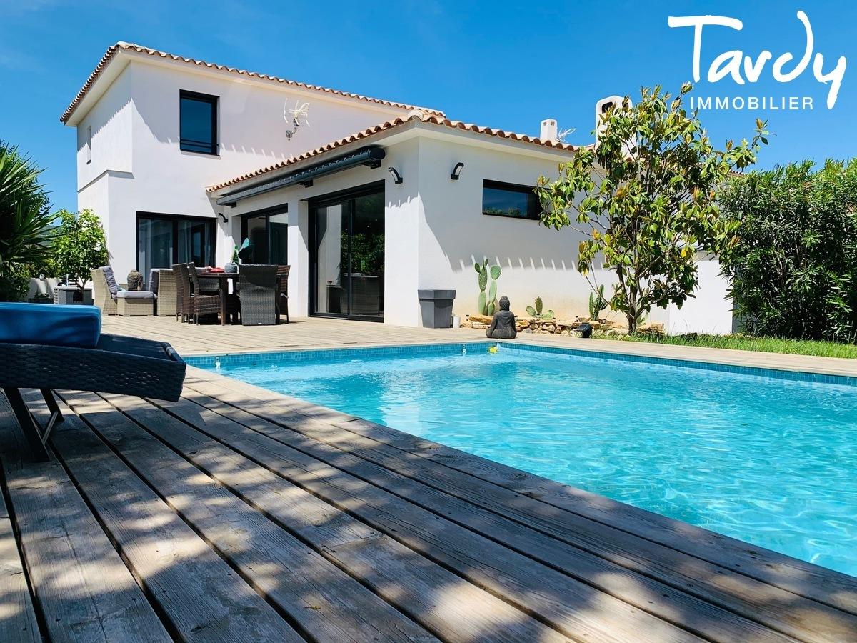 Maison contemporaine, 15 mns du centre ville - 83270 St Cyr sur mer - Saint-Cyr-sur-Mer - St Cyr sur mer maison avec piscine