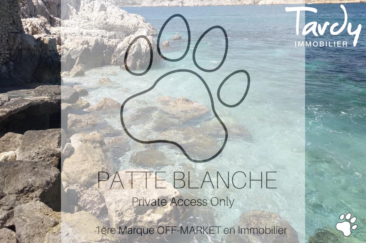Villa pieds dans l'eau - 13007 Marseille Malmousque - Marseille 7ème - Pieds dans l'eau 13007 Tardy immobilier