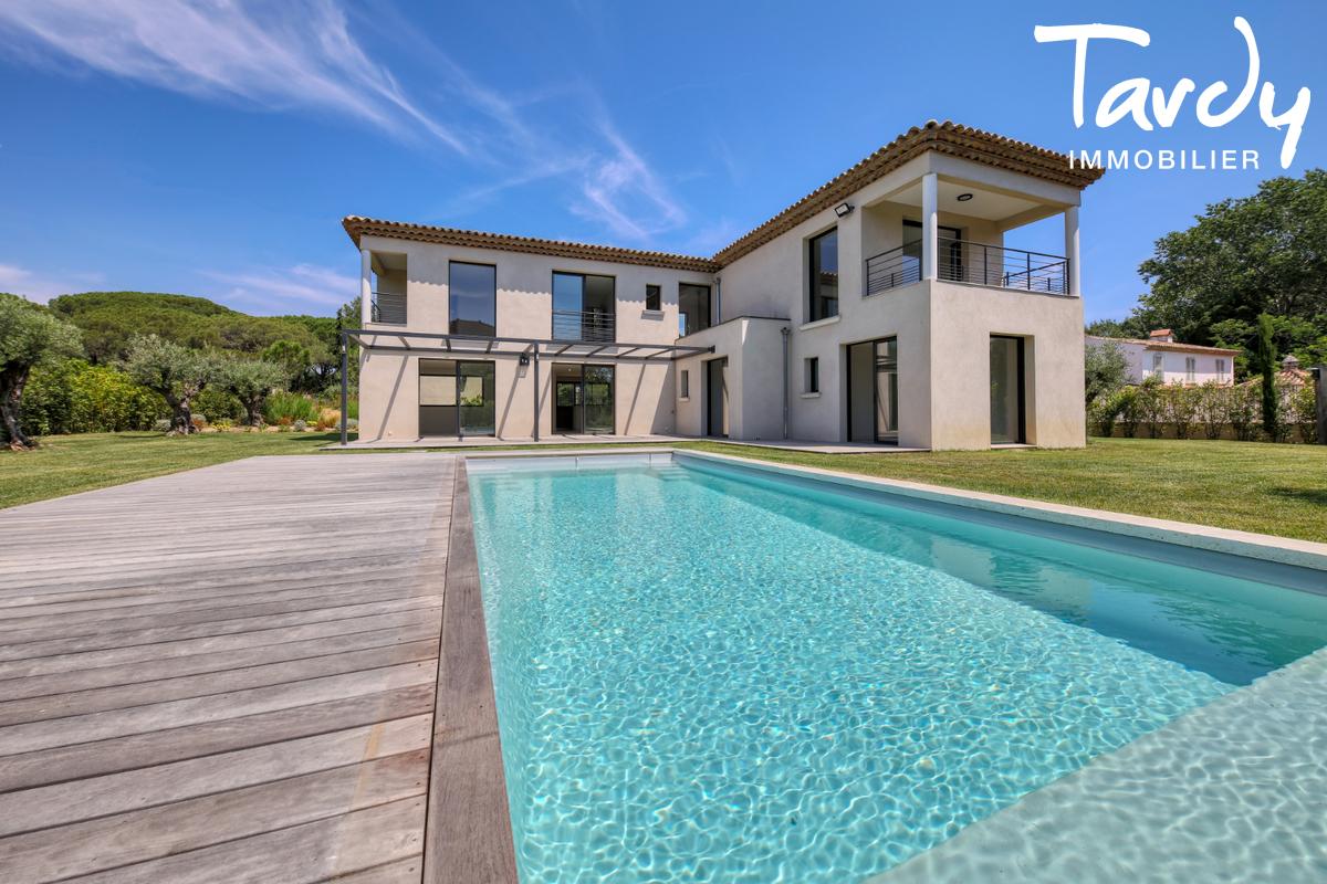 Villa neuve en FNR - 100 mètres de la plage - Saint Tropez - Saint-Tropez - Saint Tropez, quartier recherché