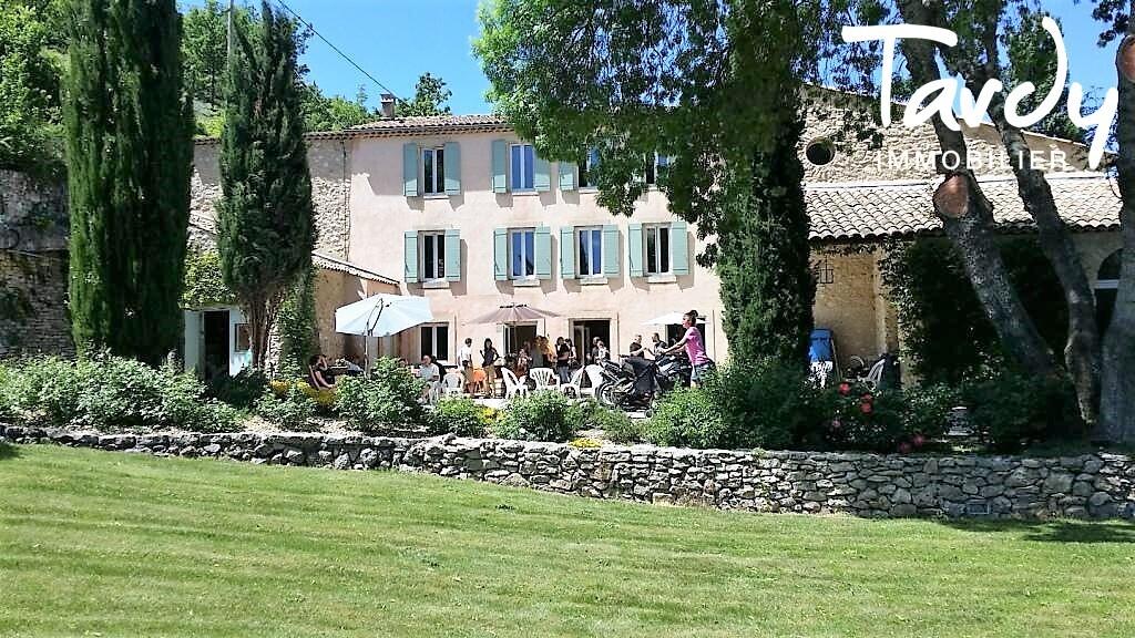 Moulin XIXème- Propriété Calme et Nature - Parc National du Luberon- 27 minutes APT - Saint-Michel-l'Observatoire
