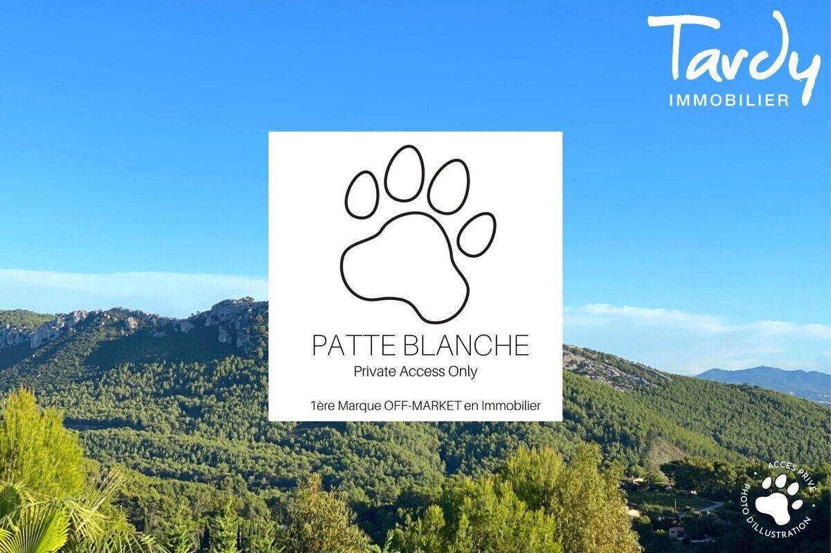 Villa vue panoramique vignes et collines - 83740 La Cadière d'Azur - La Cadière-d'Azur