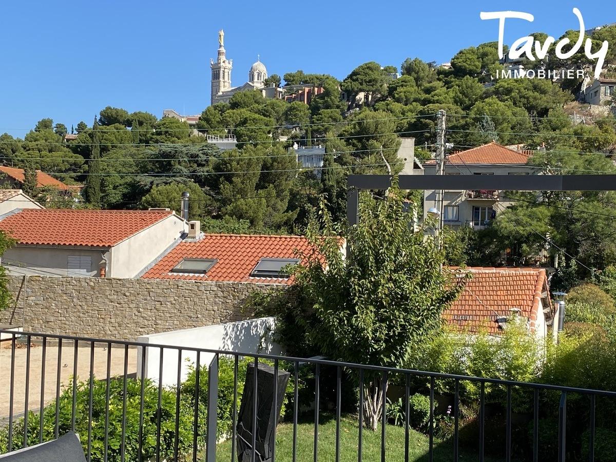 Villa Contemporaine, vue Notre Dame de la Garde - Roucas blanc 13007 Marseille - Marseille 7ème