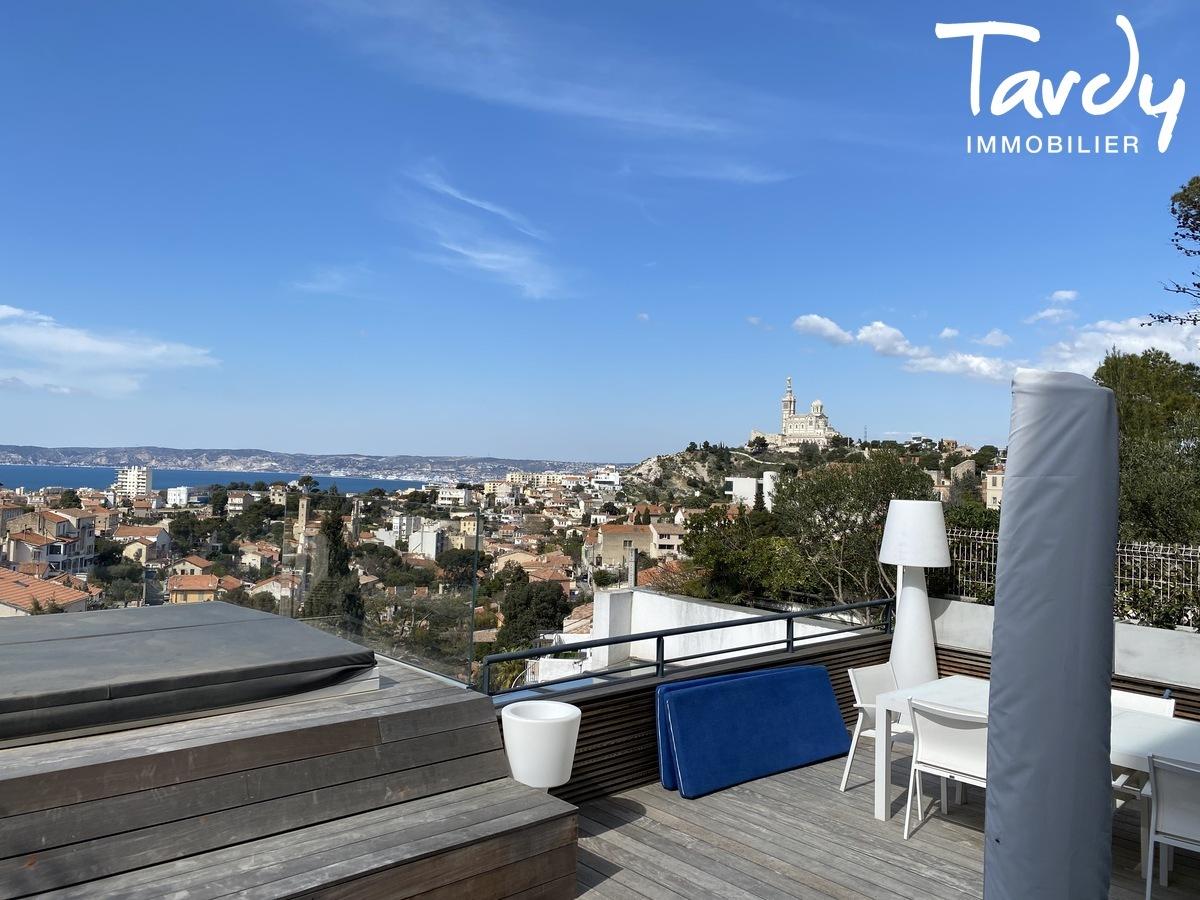 Belle Maison de ville contemporaine vue mer- Roucas Blanc 13007 - Marseille 7ème