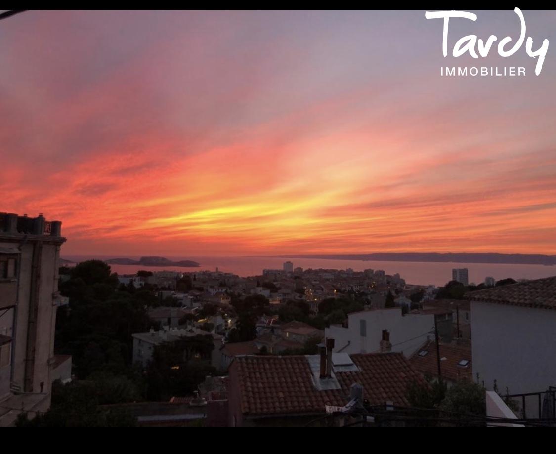 Maison de caractère vue mer - 13007 MARSEILLE - Marseille 7ème