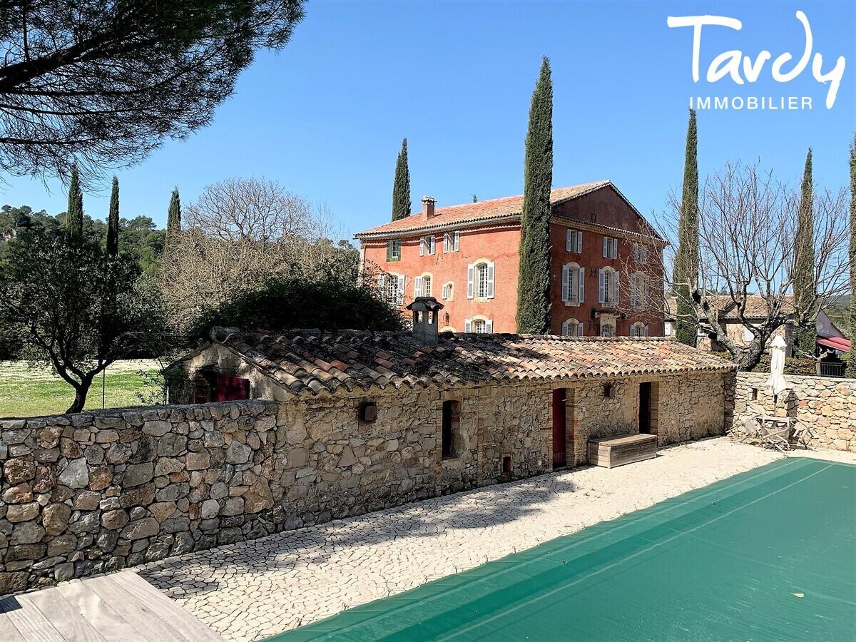 Maison de Maître XVIIIème siècle -  Provence Verte Cotignac - entre Aix en Provence et Saint-Tropez  - Cotignac