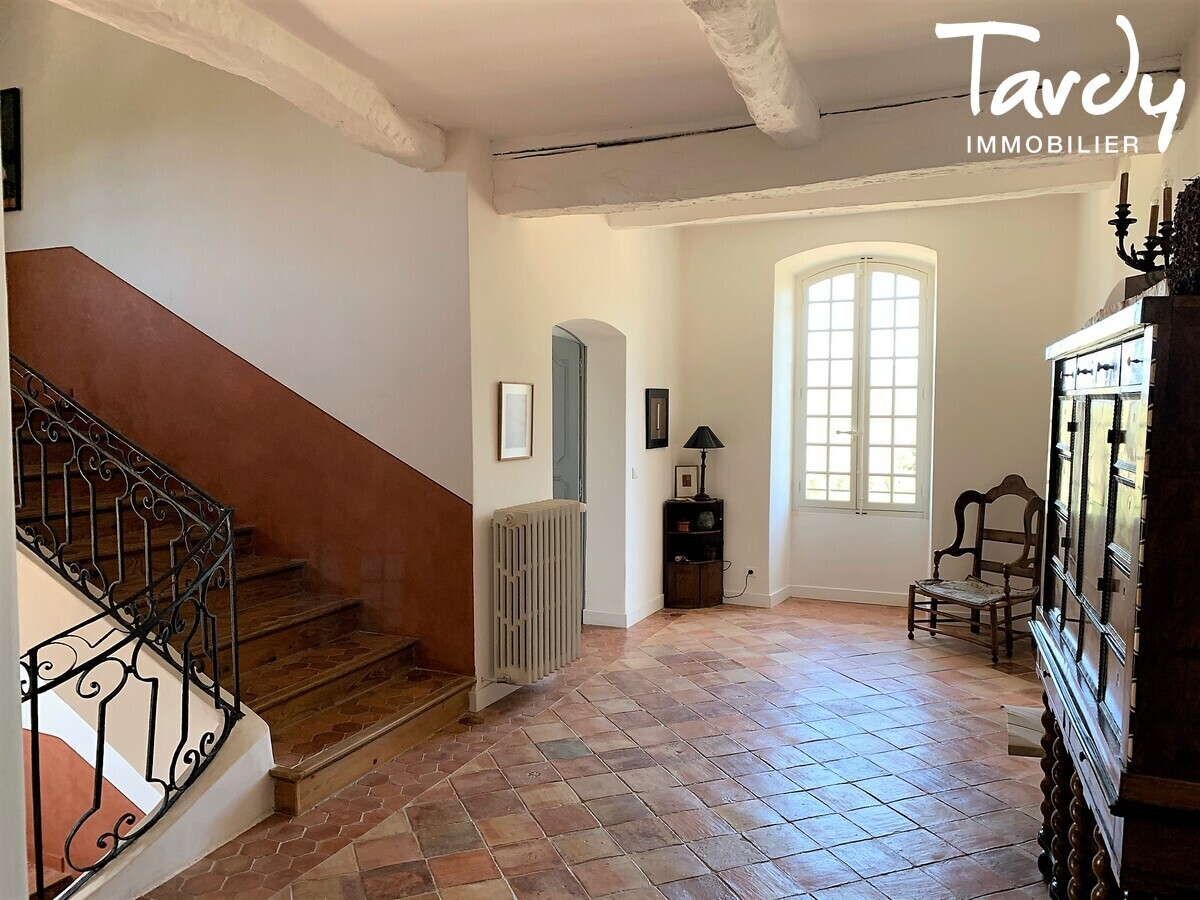 Maison de Maître XVIIIème siècle -  Provence Verte Fox Amphoux - entre Aix en Provence et Saint-Tropez  - Fox-Amphoux