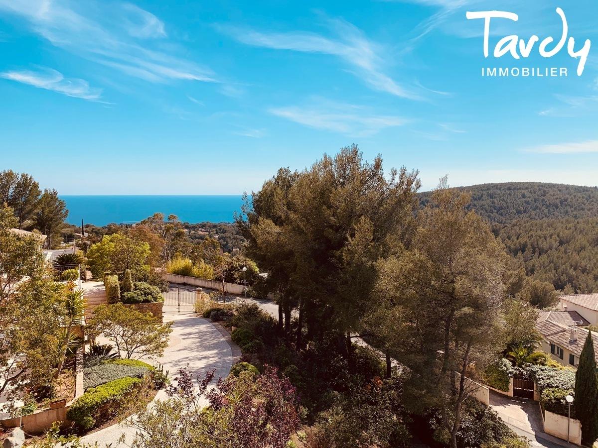 Grande villa avec vue - La garduère  Bandol 83150 - Bandol - jardin vue mer Bandol